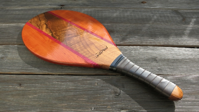 "Frescobol Racquet ""Veritas"""