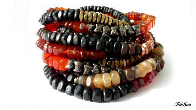 Horn Nugget Bracelets