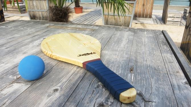 Racquet Spruce blue grip